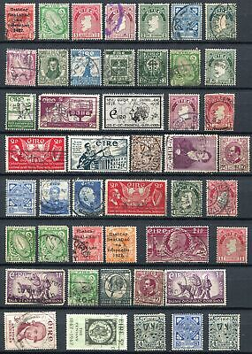 Stamps > Ireland KGV 1922 start collection of 62.