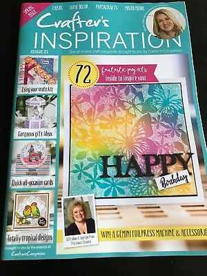 Crafters Inspiration Magazine Issue 21 From Crafters Companion And Sara Davies