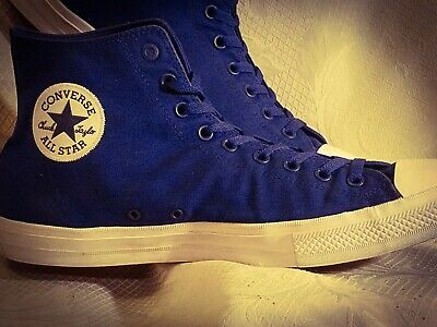 16be09ecf495 Converse Chuck Taylor All Star Hi Top FlyKnit Men s Shoes Size 15 157507C  Blue