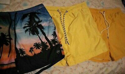 Boys Shorts X 3 Pair Size L And XL