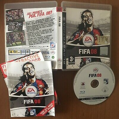 FIFA 08  ps3 originale playstation 3 gioco giochi ITALIANO