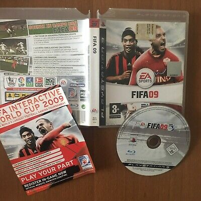 FIFA 09  ps3 originale playstation 3 gioco giochi ITALIANO
