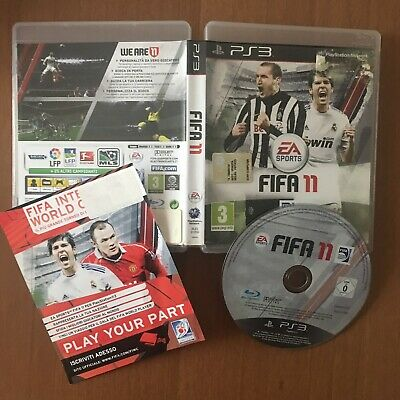 FIFA 11  ps3 originale playstation 3 gioco giochi ITALIANO