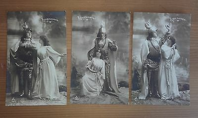 Lohengrin Wagner (11 post cards)