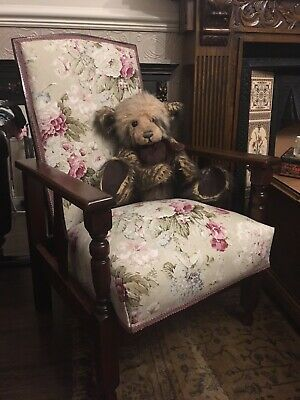 Pretty antique recliner Chair Arts And Crafts?
