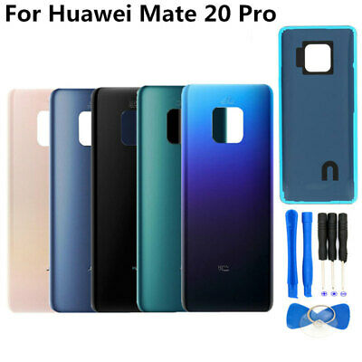 For Huawei Mate 20 Pro LYA-L0C Battery Rear Back Door Cover Housing Glass Case