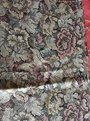Vintage Floral Tapestry Upholstery Craft Fabric