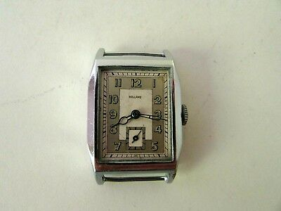 Antique Rolland Swiss Manual Wind Art Deco Ladies Wristwatch For Repair