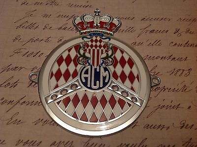Automobile Club of Monaco car grille badge 1