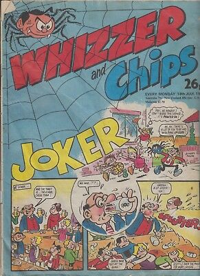 Comic. Whizzer and Chips 18 July, 1987.