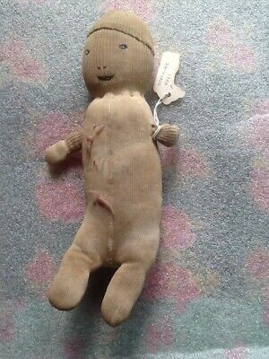 antique/vintage doll made from stocking. very old and rare