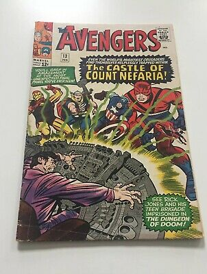 The Avengers#13(Count Nefaria)1965 Excellent Condition