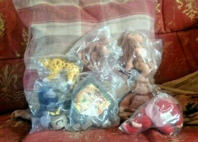 Job Lot Of McDonalds Toys Disney Tarzan Set. Some Mint In Bag. Sealed Bags Too.