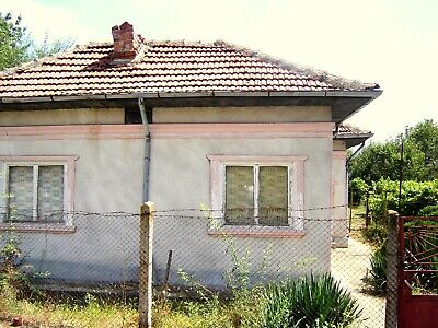 REDUCED PRICE! Single-storey house with 2330 sq.m. plot of land, near Silistra