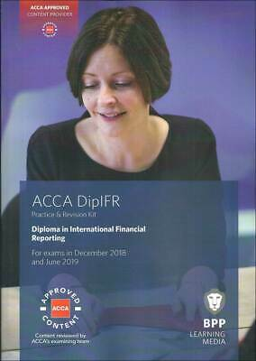 ACCA Diploma in International Financial Reporting Study Text 2018-19 BPP Digital