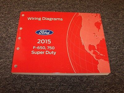 2013 ford f650 and f750 super duty truck wiring diagram manual
