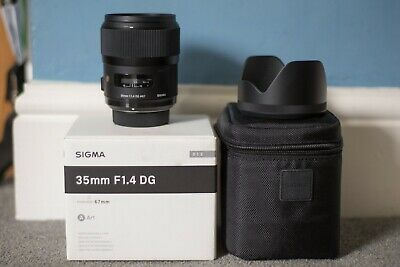 Sigma ART 35mm F/1.4 HSM DG Lens for NIKON, Very good Condition