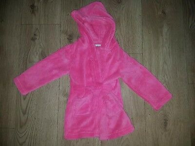 Baby girl Pink dressing gown/Robe 18- 24 months