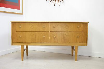 DELIVERY £50 Mid Century Retro Teak Compact Sideboard TV Unit Chest of Drawers