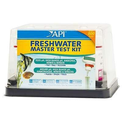 API Freshwater Aquarium Fish Tank Master Water Test Kit