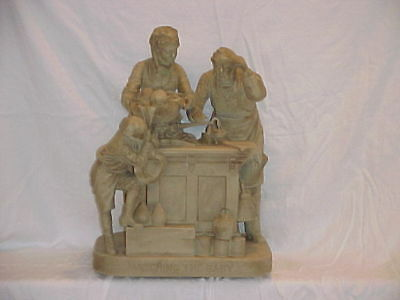 John Rogers Group of Statuary 'WEIGHING THE BABY'