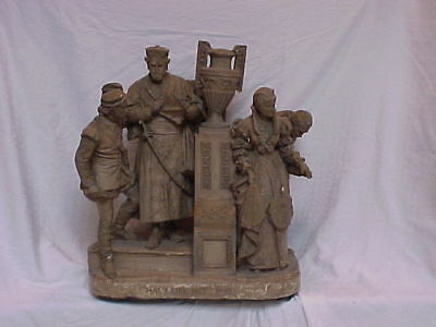John Rogers Group of Statuary 'HA! I LIKE NOT THAT'  Shakespeare Othello