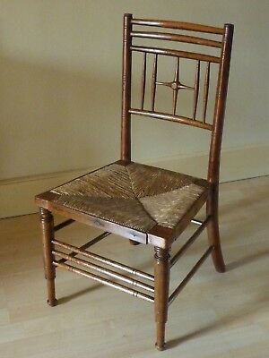 Liberty & Co Argyll child's chair Arts & Crafts
