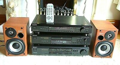 Quality SONY Hi-Fi System CD Player/Tuner/Amplifier *Free Sony Speakers*