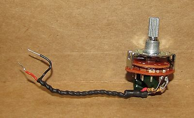 6 position VARITONE switch for guitar and bass