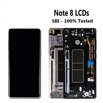B LCD Display Screen Touch Digitizer +Frame For Samsung Galaxy note 8 SM-N950 US