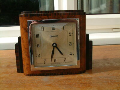 Electric Mantel clock by Ferranti