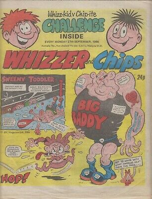 Comic, Whizzer and Chips 1986