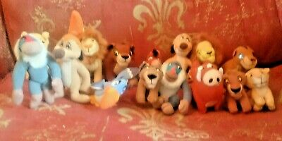 Job Lot Of McDonalds Toys 16 Disney's Lion King Plush. Little Ones And Big Ones.