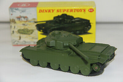 Dinky Toys Meccano 651 Centurion Tank Yellow Picture Box
