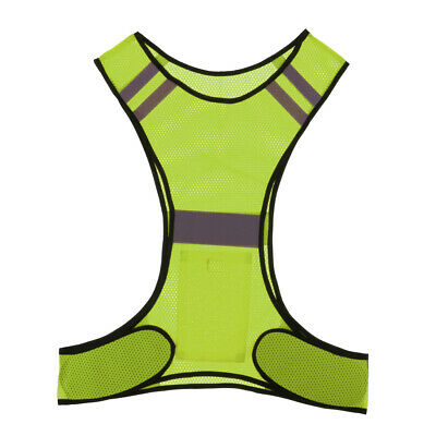 Night Running Vest Ultra-light Reflective Safety Sweater Gear for Cycling