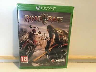 ROAD RAGE - For XBOX One (New & Sealed)