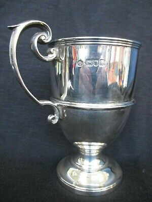 Antique Solid Silver Cup, William Hutton & Sons Ltd, London 1897