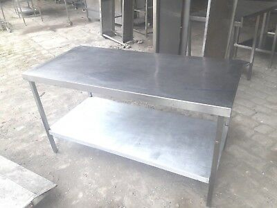 Commercial Heavy Duty All Stainless Steel Chefs Prep Table