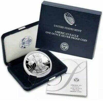 2007 American Eagle Proof Coin, 1 oz Silver (.999) #BB157