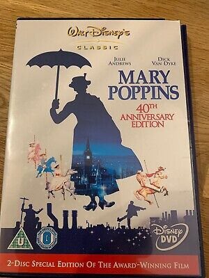 Mary Poppins (DVD, 2005, 2-Disc Special Edition Set, Box Set)