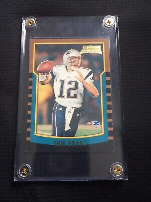 2000 Bowman Chrome 236 Tom Brady New England Patriots Rookie