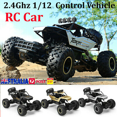 47cm 1:12 2.4G High Speed RC Monster Truck Remote Control Off Road Car RTR Toy