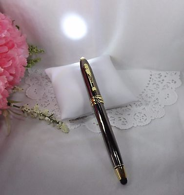 3 in 1 Royale Excel Tech Gunmetal Lighted Ballpoint Pen & Stylus HIGH QUALITY