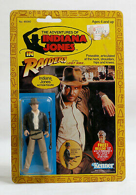 Vintage Indiana Jones Raiders of the Lost Ark ROTLA MOC Kenner 4 Back