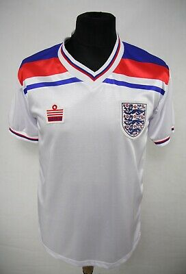 ADMIRAL ENGLAND _ 1980/1983 HOME Football Shirt Jersey SIZE S __ (V120)