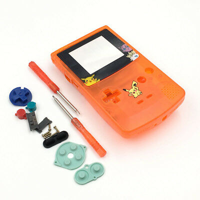 Faceplates, Decals & Stickers It Phonecaseonline Carcasa Gameboy Color Mario Clear Orange New