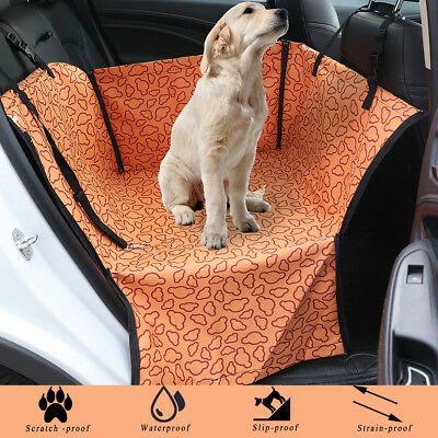 Pet Dog Puppy Car Back Oxford Seat Waterproof Cover Protector Hammock Cushion