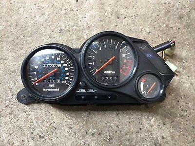 Kawasaki Gpz500s Clocks From A 1998 Model, 22k