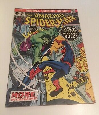 The Amazing Spiderman#120(Hulk Appearance)Very Fine Cents Copy