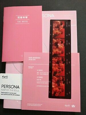 BTS Map Of The Soul Persona album ver.1+ photo film+ Poster *No Photocard